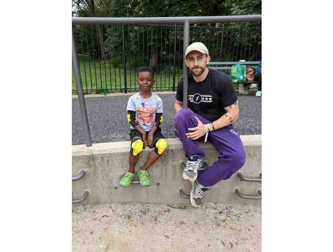 Parkour NYC: One CHILD 1-on-1 Intro Class with Bryce Clarke