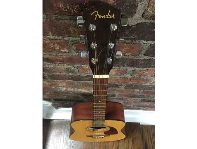 Fender DG-14S Acoustic Guitar (used in mint condition) with soft backpack case