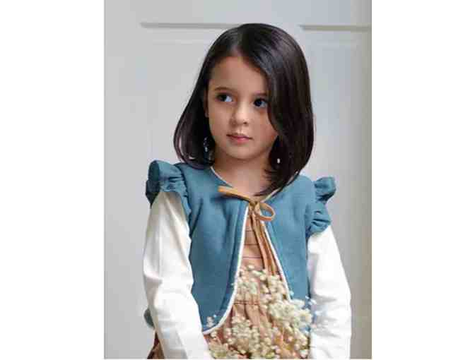 Handmade Children's Vest by Tiny Poet