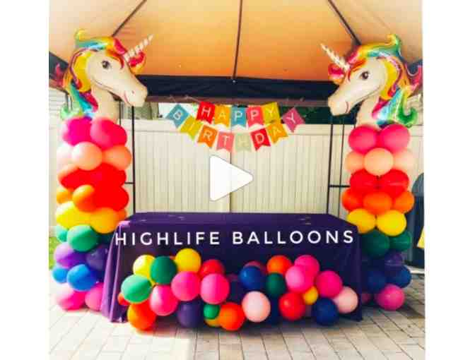 Balloon Design for a Kids' Party or Other Event