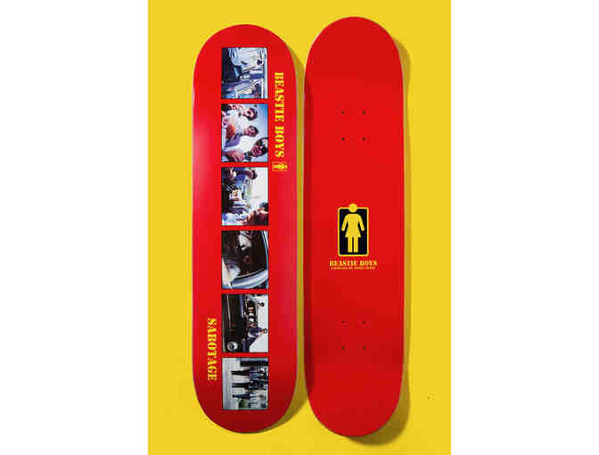 Beastie Boys Sabotage Skateboard Deck Autographed by Spike Jonze, Ad-Rock & Mike D