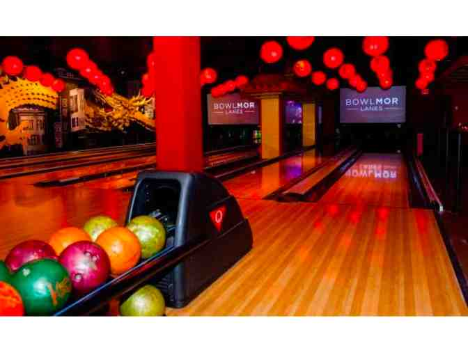 Bowling Session for up to 10 @ Bowlmor Times Square