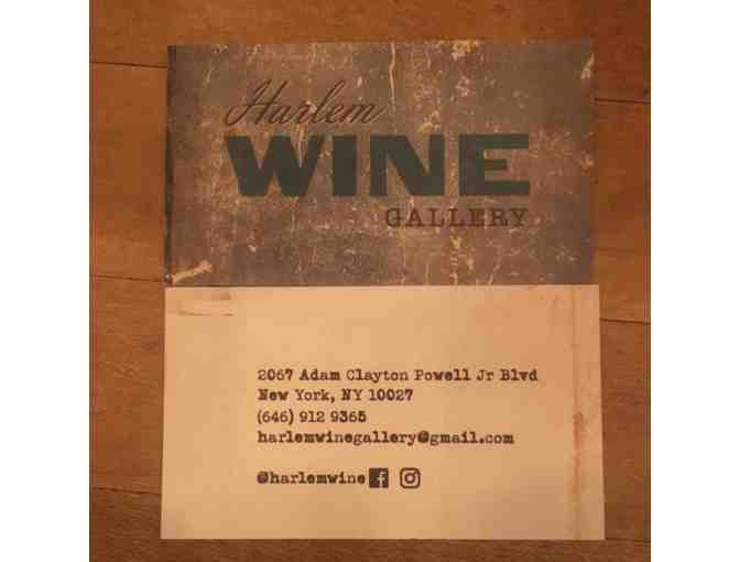 Harlem Wine Gallery $100 Gift Certificate + 2 Tix for Tasting Class