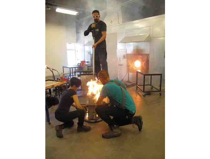 Hot Glass Afternoon at UrbanGlass