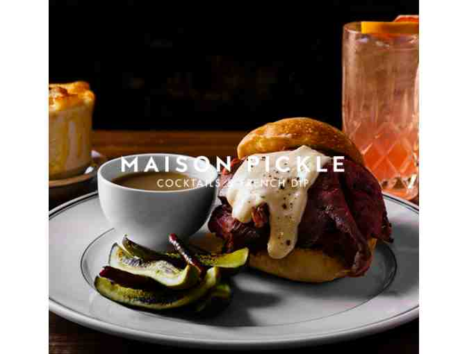 Maison Pickle: $100 Certificate to Dine