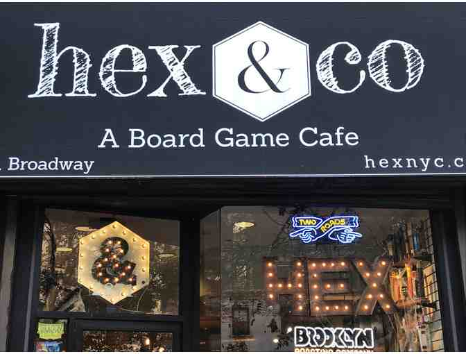 Hex & Co., A Board Game Cafe