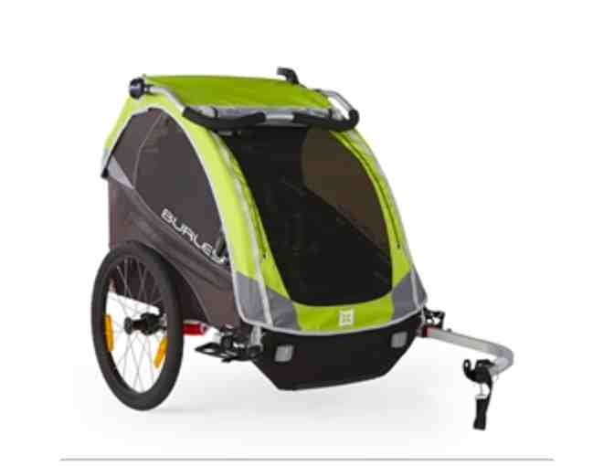 Burley's top-of-the-line Bike Trailer for up tp 2 Kids (lightly used)