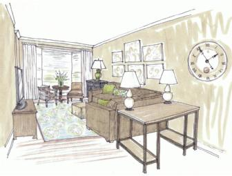Interior Design Services - Redesign a Room - McCandlish Design LLC