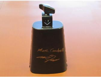 Autograhed  Will Ferrell Cow Bell