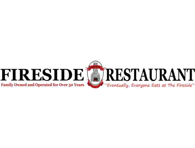 $100 Gift Certificate to 'The Fireside Restaurant & Pub'