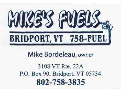 $100 Gift Certificate to Mike's Fuels