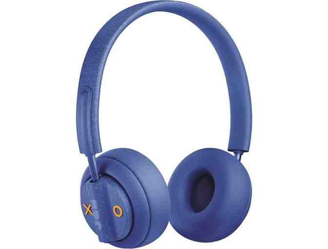 JAM - Out There Wireless Noise Canceling On-Ear Headphones - Blue - Photo 1