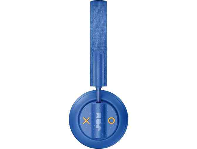 JAM - Out There Wireless Noise Canceling On-Ear Headphones - Blue - Photo 2