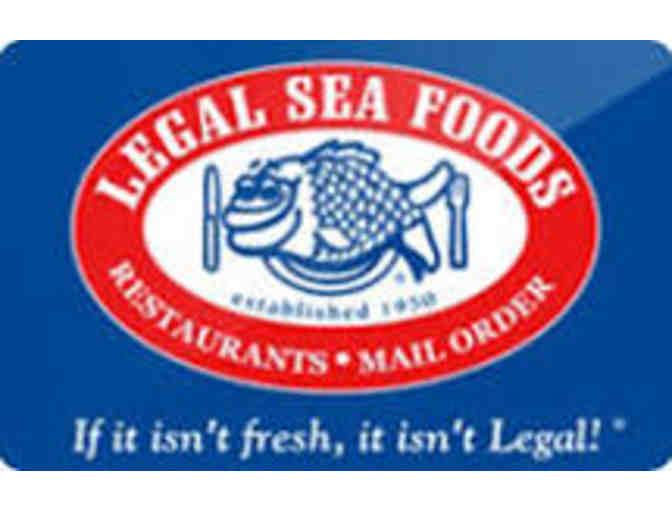 Legal Sea Foods $100 and cookbook #1 - REOPENING 6/21 in Seaport