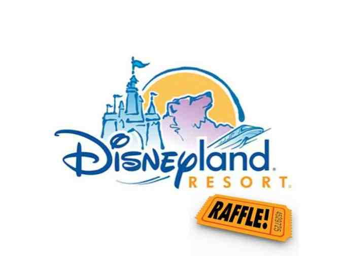 1. Disneyland Raffle of (4) 1-Day Park Hoppers:  5 Raffle Ticket Entries - Photo 1
