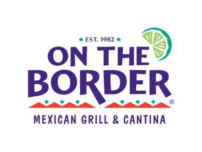 On The Border $25 Gift Certificate