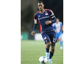 Jerry Bengtson #27 navy jersey w/ leukemia awareness ribbon