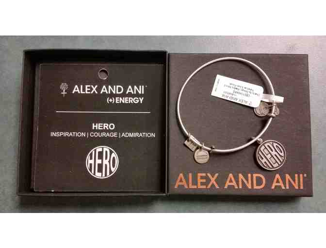 Alex and Ani 'Hero' Bracelet - courtesy of Friends of the MMH Foundation