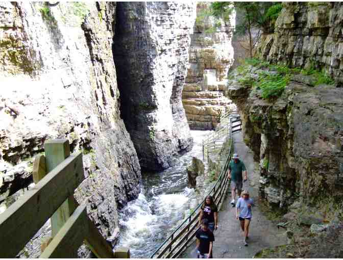 Explorer Pass for up to 6 people - courtesy Ausable Chasm