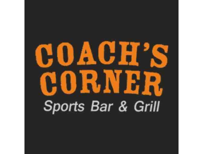 $25.00 Gift Certificate - courtesy of Coach's Corner