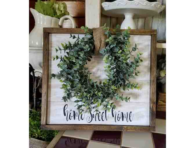 'Home Sweet Home' Wreath - courtesy of 266 Designs