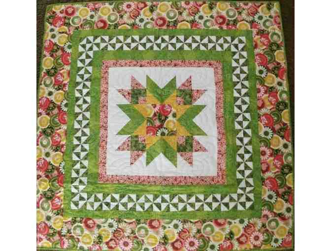 Handmade Lap or Table Top Quilt - courtesy of Janice Duprey