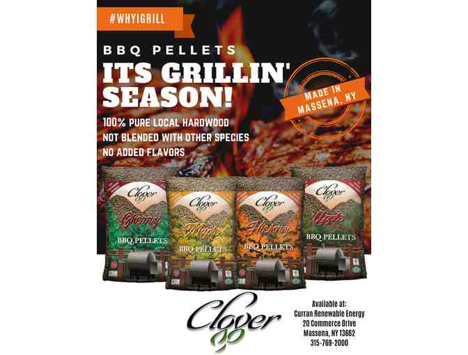 Maple, Apple, Hickory & Cherry BBQ Cooking Pellets - from Curran Renewable Energy