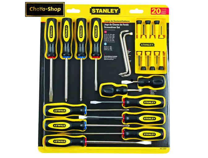 Stanley 20-Piece Screwdriver Set - courtesy Triple A Building Supply