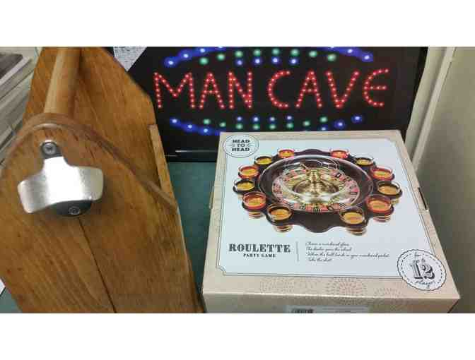 Man Cave Starter Kit - courtesy Friends of the MMH Foundation