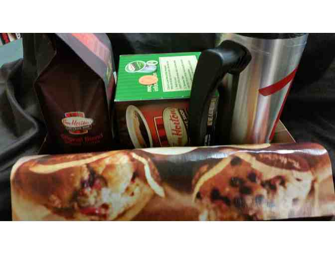 Tim Horton's Coffee & Travel Mug Gift Pack - courtesy Tarbell Management Group