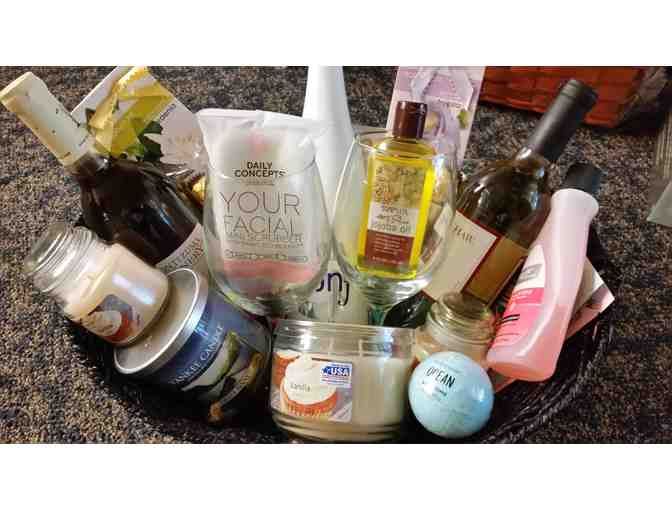 Everything for Mom Basket - courtesy MMH Maternity and Emergency Departments