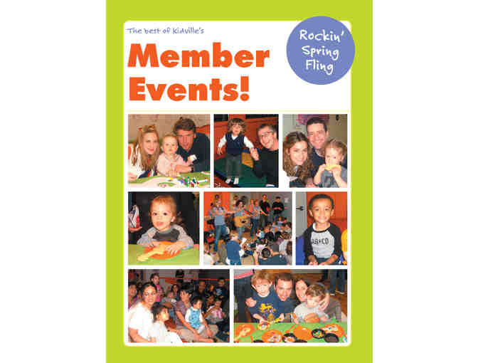 Kidville UWS One Month of Classes & Silver Membership