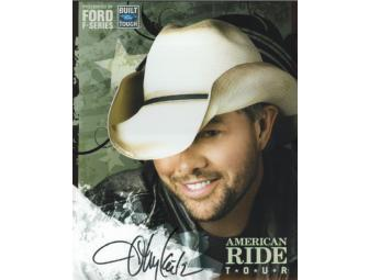 Picture Autographed by Toby Keith