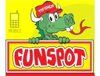 Funspot in Laconia NH - $80 in tokens