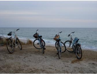 Two Round Tickets to Nantucket and Bicycle Rental for 2