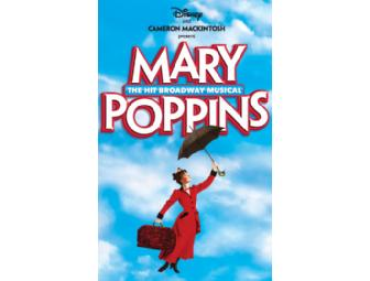 Disney on Broadway! 2 tickets to Mary Poppins, with Cast Album and Souvenir Program