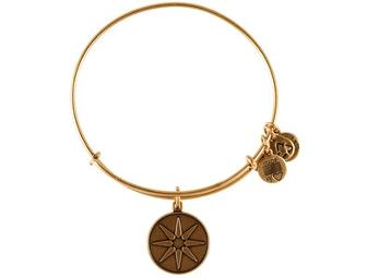 Alex and Ani - 3 Expandable Wire Bangles in Russian Gold
