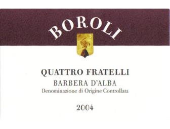 Wine & Cheese: 2004 Boroli Quattro Fratelli (1,5L Bottle) and Formaggio Kitchen Gift Card