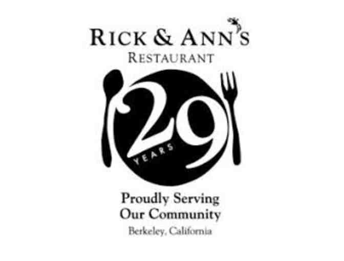 Rick and Ann's Gift Certificate - Photo 1