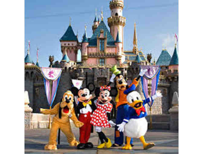 Four Disneyland Resort 1-Day Park Hopper Tickets