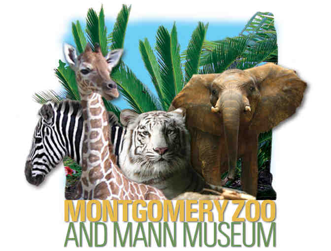 Montgomery Zoo & Mann Wildlife Museum Family Membership with Train Pass - Photo 1