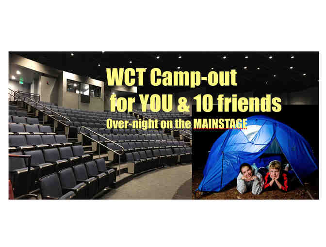 WCT MAINSTAGE CAMP-OUT