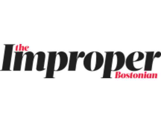 A Night On the Town with Improper Bostonian,  Jonathan Soroff