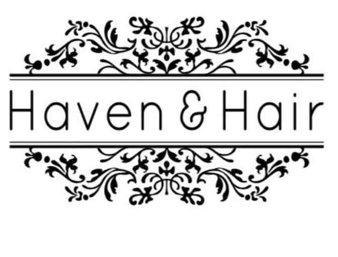 Spa Day in Cushing Square with Shaseleen Salon AND  Haven & Hair!