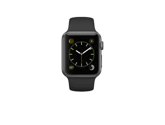 Apple Watch Series 1 -  Space Gray Aluminum with Black Sport Band
