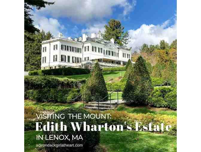 4 tickets to The Mount in Lennox, Massachusetts The Estate of Edith Wharton