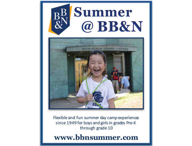 BB&N Summer Camp - One Week! - Photo 1