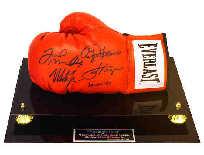 'Boxing's Best' - Boxing Glove - (5 Autographs)