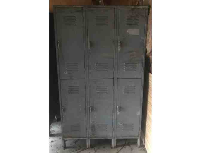 Metal Lockers - 3 Wide x 2 Tall