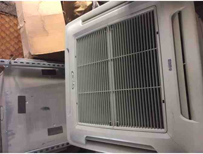 24,000 BTU Heat Pump w/ Ceiling Cassette Air Handler